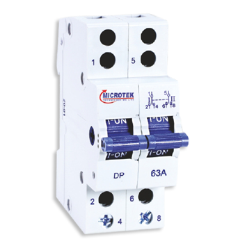 >TWO WAY CENTRE OFF CHANGEOVER SWITCH 2 POLE